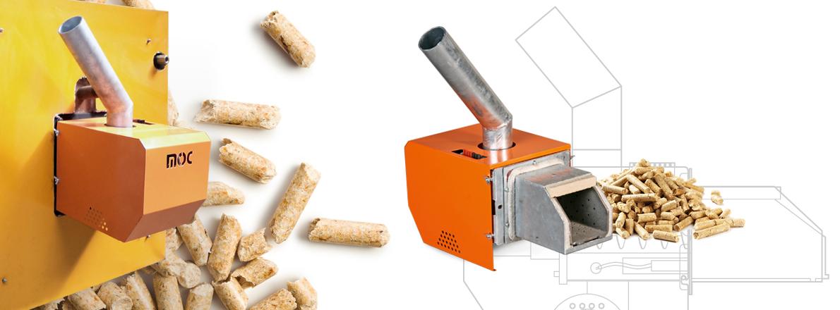 Pelletbrenner Biomassebrenner 25 - 500 kW