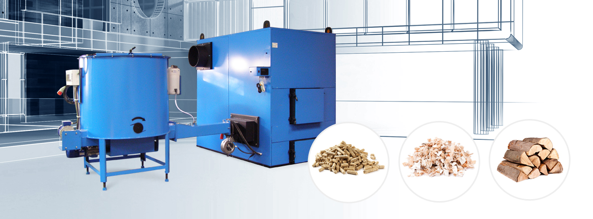 Holzfeuerungsanlagen und Pelletheizsysteme für Industrie